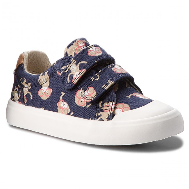 "Boys Clarks Canvas Shoes /""Comic Air/"""