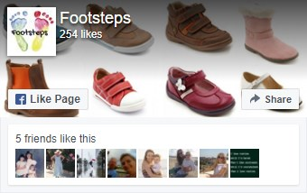 Footsteps on Facebook